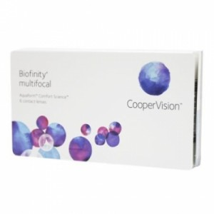 Biofinity Multifocal, 2x 6er Box + Pflegemittel