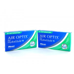 Air Optix Hydraglyde for Astigmatism, 2x 3er Box